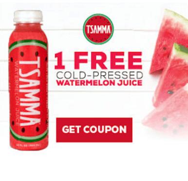 TSAMMA Cold-Pressed Watermelon Juice